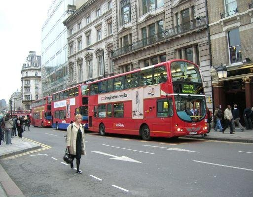 The red London busses, London United Kingdom