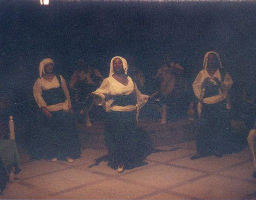 Traditional Tunisian dancers, Tunisia