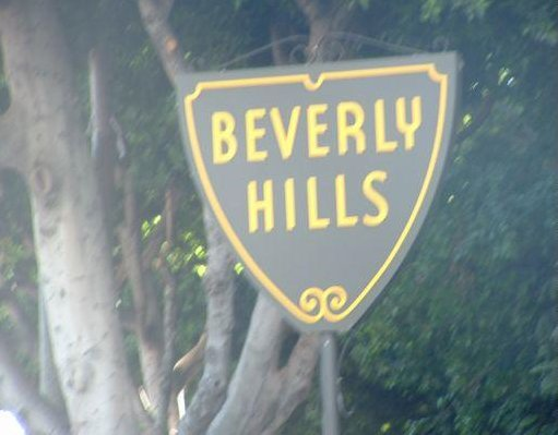 Beverly Hills in Los Angeles Hollywood  