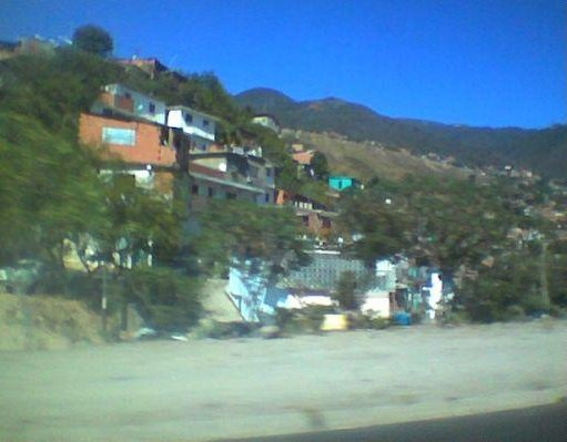 Houses near the beach, Caracas Venezuela