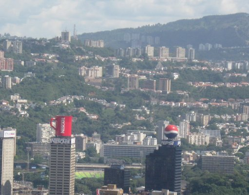 View over Caracas, Venezuela, Caracas Venezuela