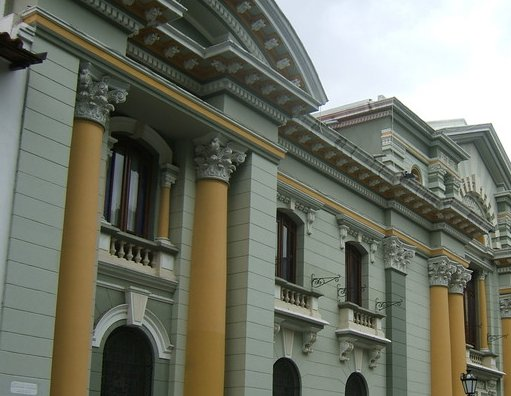 Colonial buildings in Caracas, Venezuela