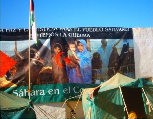 Sahara Desert Marathon near Tindouf, Algeria