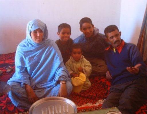 Algerian familiy, Algeria