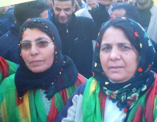 Diyarbakir Turkey Kurdish women at Newroz