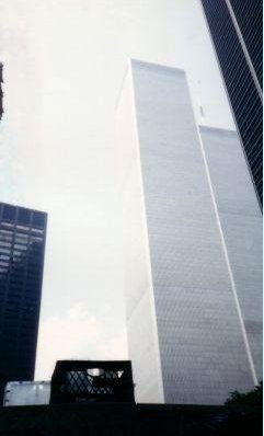 Pictures of the Twin Towers, New York United States