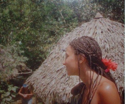 Negril Jamaica Doing my hair in Jamaica