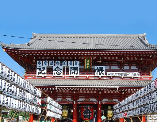 Tokyo Japan Sensoji Temple Tokyo