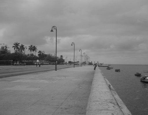 Malecom, Havana's esplanade, Cuba