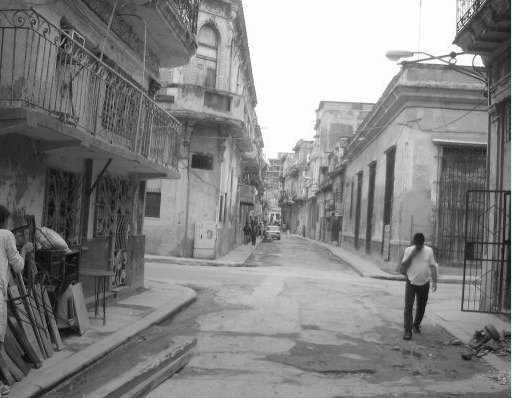 Streets of Old Havana City, Cuba
