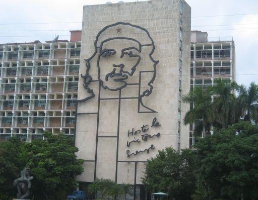 Plaza de la Revolucion in Havana, Cuba