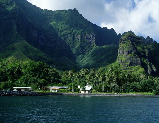Fatu Hiva French Polynesia Virgin Bay, Fatu Hiva, French Polynesia