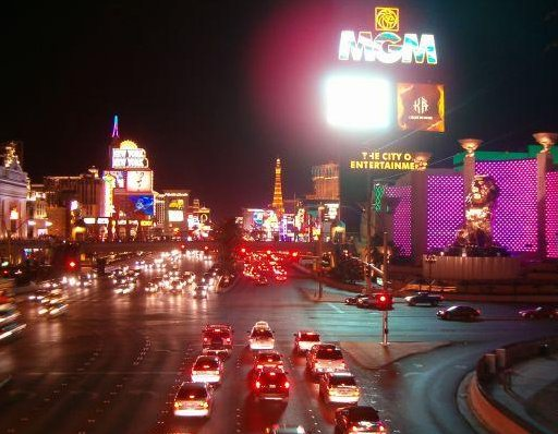 Las Vegas by night pictures, United States