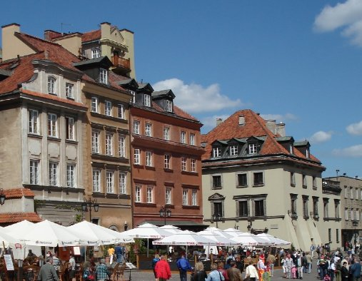 Market Square in Cracow, Poland