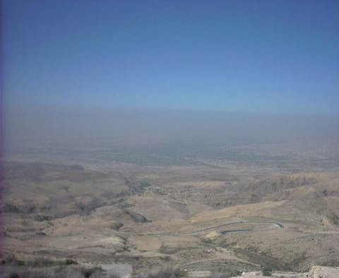 Promised Land at Mount Nebo, Jordan