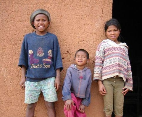 Local kids in Madagascar, Madagascar