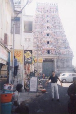 Chennai India Photo of the Meenakashi Temple