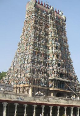 Meenakashi Temple in Chennai, India, India