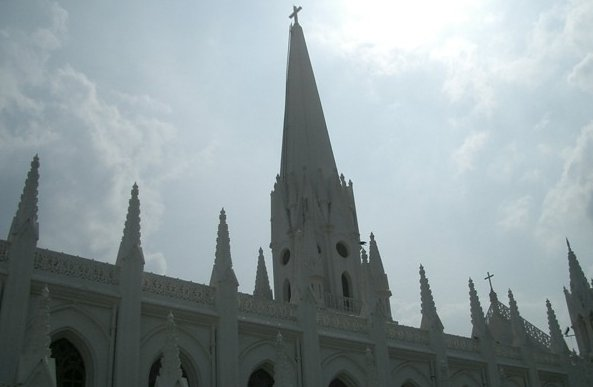 Photos of the St. Mary's Church , Chennai India