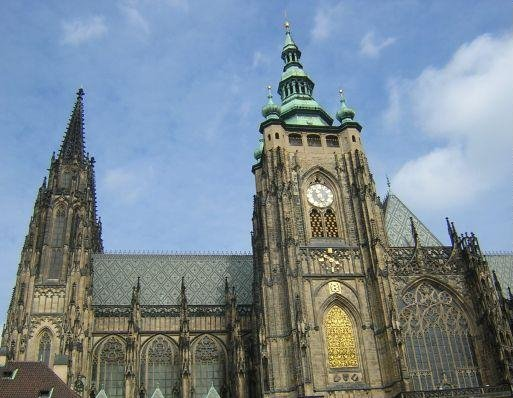 Prague Czech Republic St. Vitus Cathedral in Prague