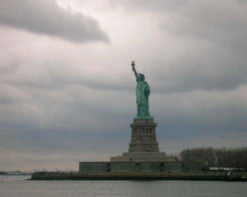 The Statue of Liberty in New York, New York United States