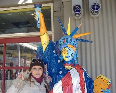 Photos with the Statue of Liberty, New York United States