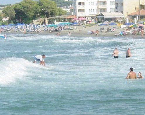 Surf on the Creta Beaches, Crete Greece