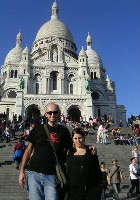 Photos of The Sacre Coeur in Paris, France