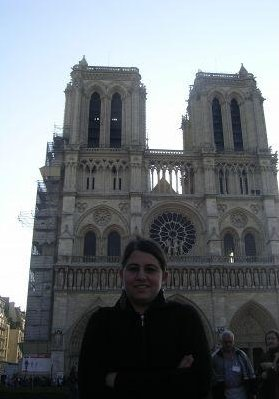 Photos of the Notre Dame in Paris, France