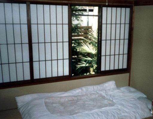 Photo of my Japanese Hotel room, Japan
