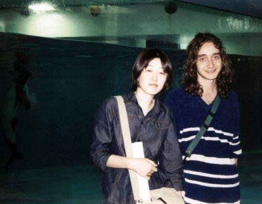 Me and Yuko at the Tokyo Acquarium, Odawara City Japan