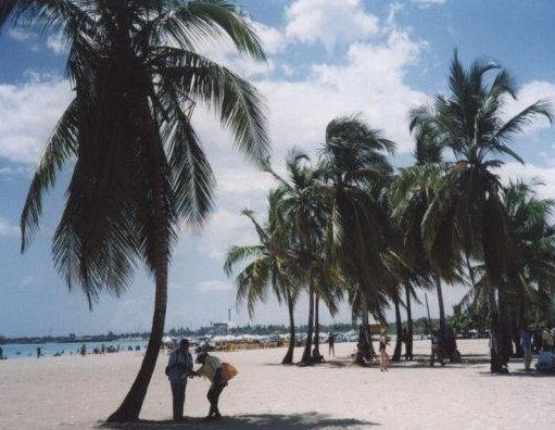 The beach at Boca Chica, Santo Domingo Dominican Republic