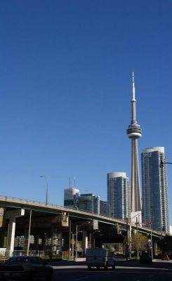 The CN Tower of Toronto, Canada