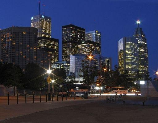 Panoramic pictures of Toronto, Canada