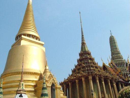 Grand Palaca Temples in Bangkok, Thailand