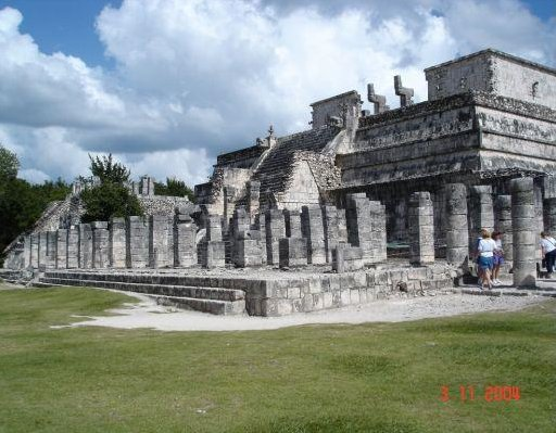 Beautiful mayan pyramids, Isla Cozumel Mexico
