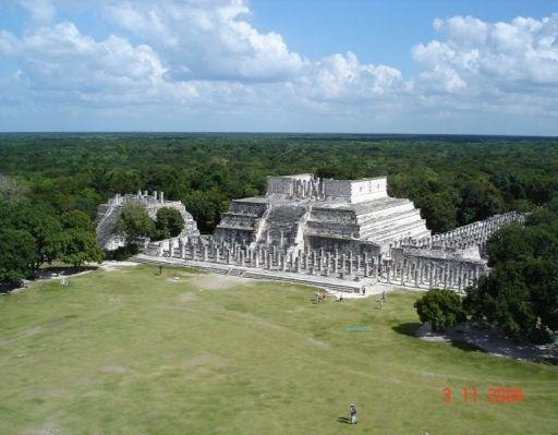 Photos of the mayan temple ruins, Mexico