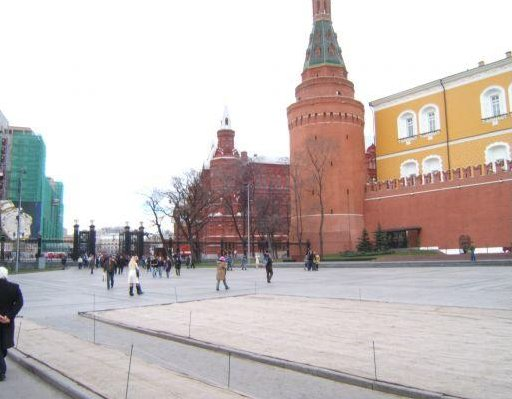 Photos of Red Sqaure in Moscow, Russia