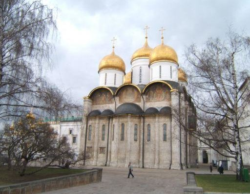 Uspensky cathedral, Kremlin, Moscow, Russia