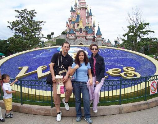 Disneyland Paris., Paris France