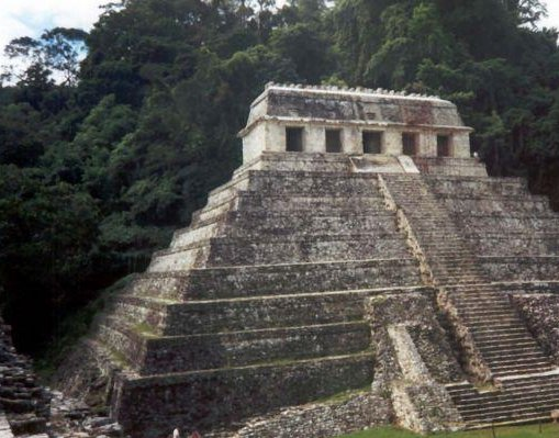 Palenque Mayan Ruins., Mexico