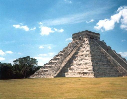 The Chitchen Itza ruins, Mexico