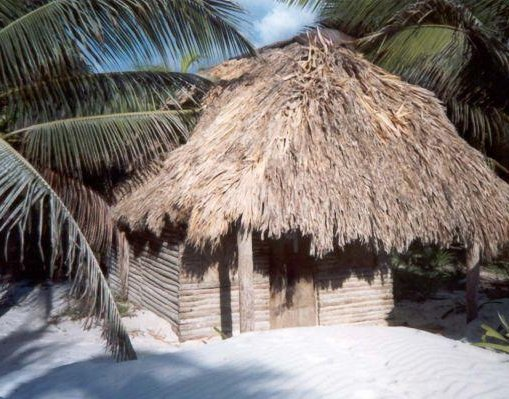 My beach cabin in Tulum, Mexico., Mexico