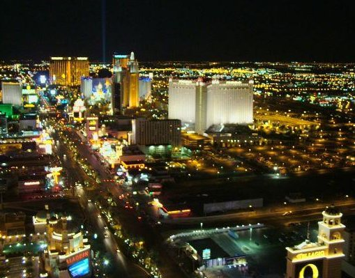 Las Vegas Strip in Nevada., New Orleans United States