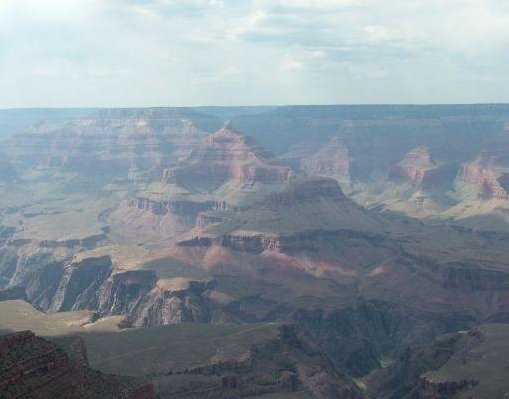 South Rim Grand Canyon in Arizona., United States
