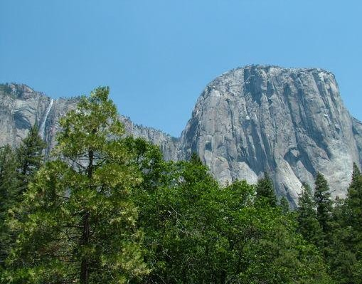 El Capitan in Yosemite National Park, California., United States