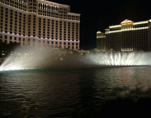 Bellagio Hotel in Las Vegas, Nevada., New Orleans United States