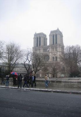 Photos of The Notre Dame in Paris., France