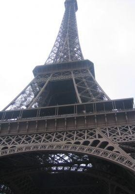 Paris France Picture of the Eiffel Tower.