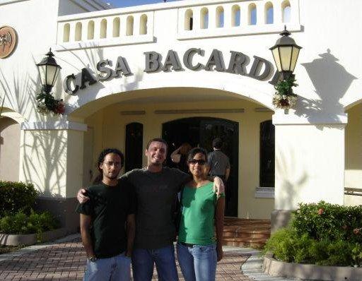 Bacardi factory in Puerto, Puerto Rico